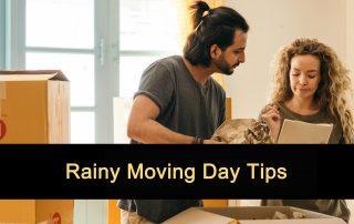 Rainy Moving Day Tips