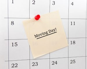 Calendar - Moving Day